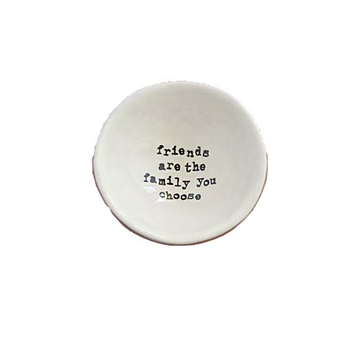 A photo of the Friends are Family Small Trinket Dish product