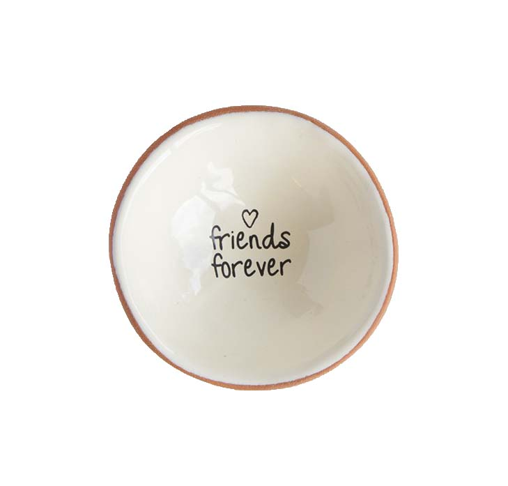 """A photo of the """"Friends Forever"""" Small Trinket Dish product"""
