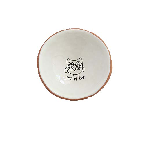 """A photo of the """"Let it be"""" Small Trinket Dish product"""