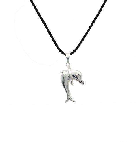 3D Hula Hoop Dolphin Pendant