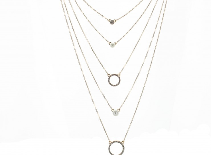 stella delicates layered dot layering long necklace shop jewelry stackable dez necklaces