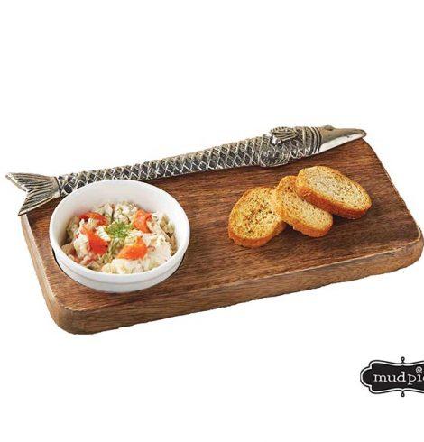 Wood Fish Bar Board