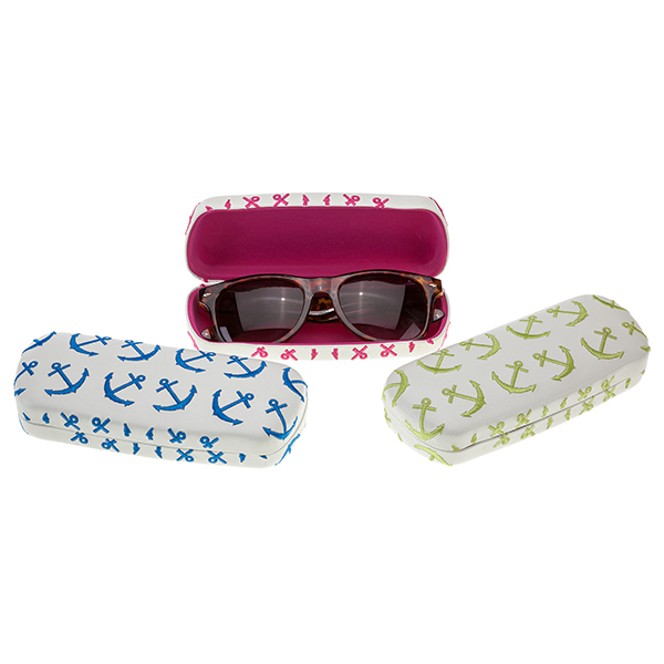 A photo of the Anchors Eyeglass Case product