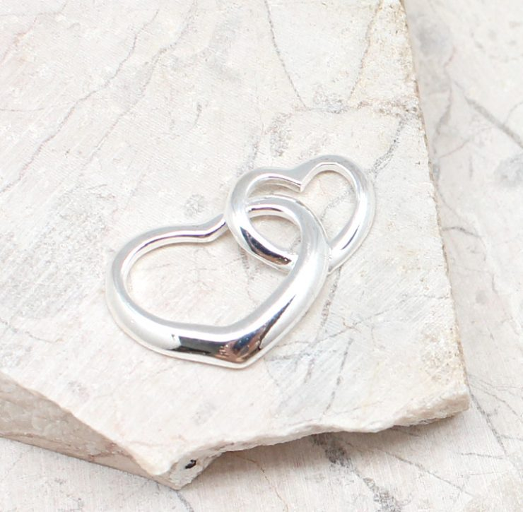 A photo of the The Double The Love Pendant product