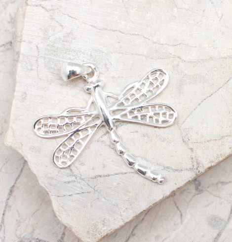 A photo of the The Dreamy Dragonfly Pendant product