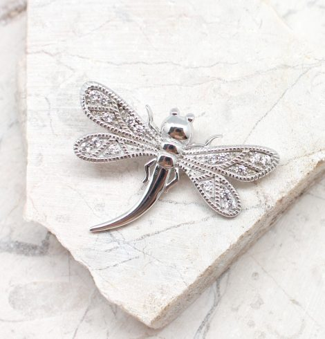 A photo of the The Sparkle Dragonfly Pendant product