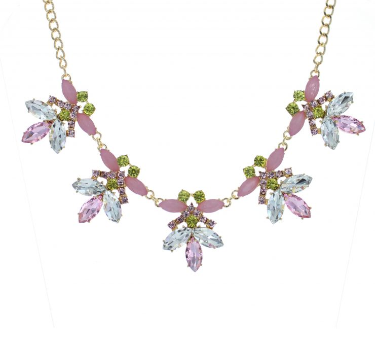 A photo of the Crystal Garden Necklace product