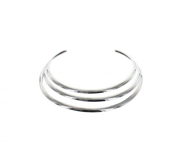 A photo of the Layered Wire Choker product