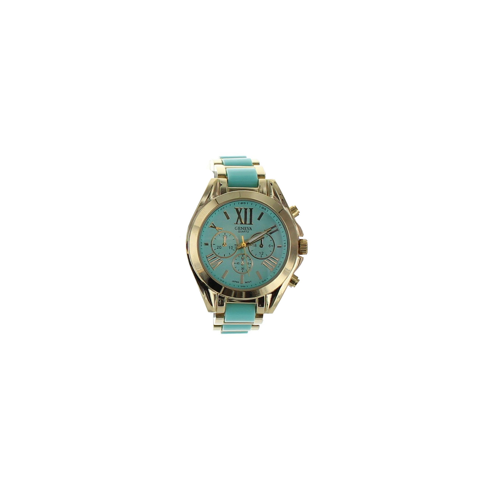 Small Face Summer Color Link Watch