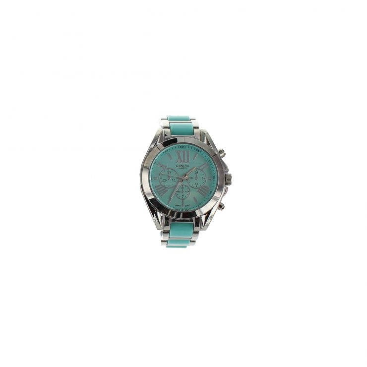 A photo of the Small Face Summer Color Link Watch product