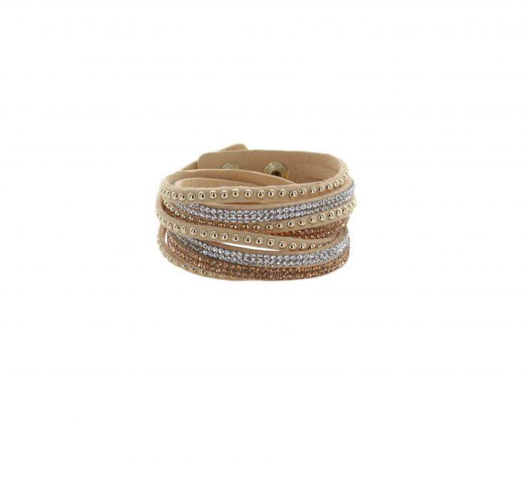 A photo of the Studded Wrap Bracelet product