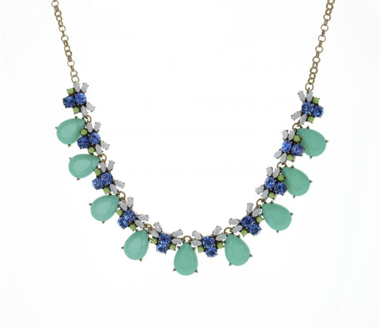 A photo of the Pedal Drop Necklace product