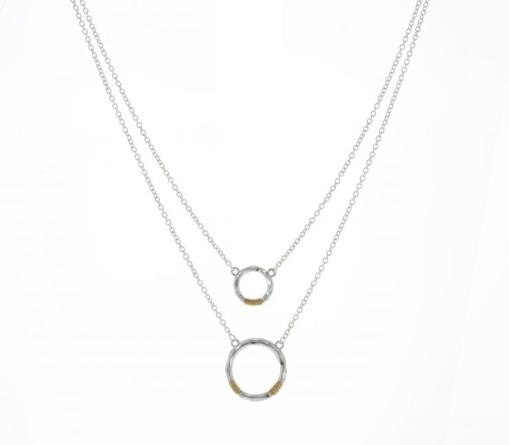 A photo of the Tribal Circle Necklace product