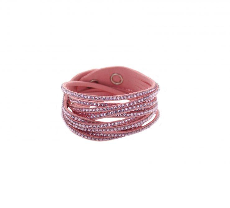 A photo of the Rhinestone Wrap Bracelet product