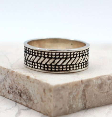 A photo of the The Men's Textured Ring product