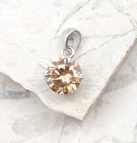 A photo of the The Simple Topaz Stone Pendant product