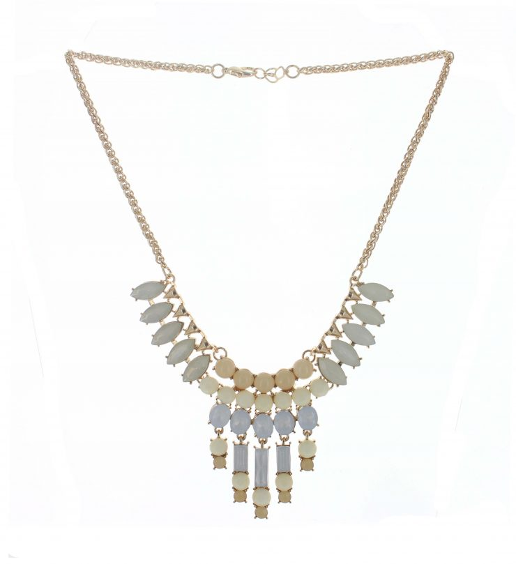 A photo of the Bubbly Chandelier Necklace product