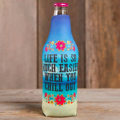A photo of the Chill Out Bottle Cozy product