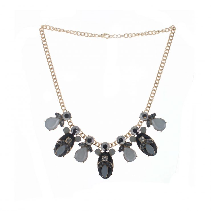 A photo of the Pretty Petal Necklace product