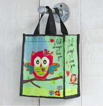A photo of the Owl Reusable Gift Bag product