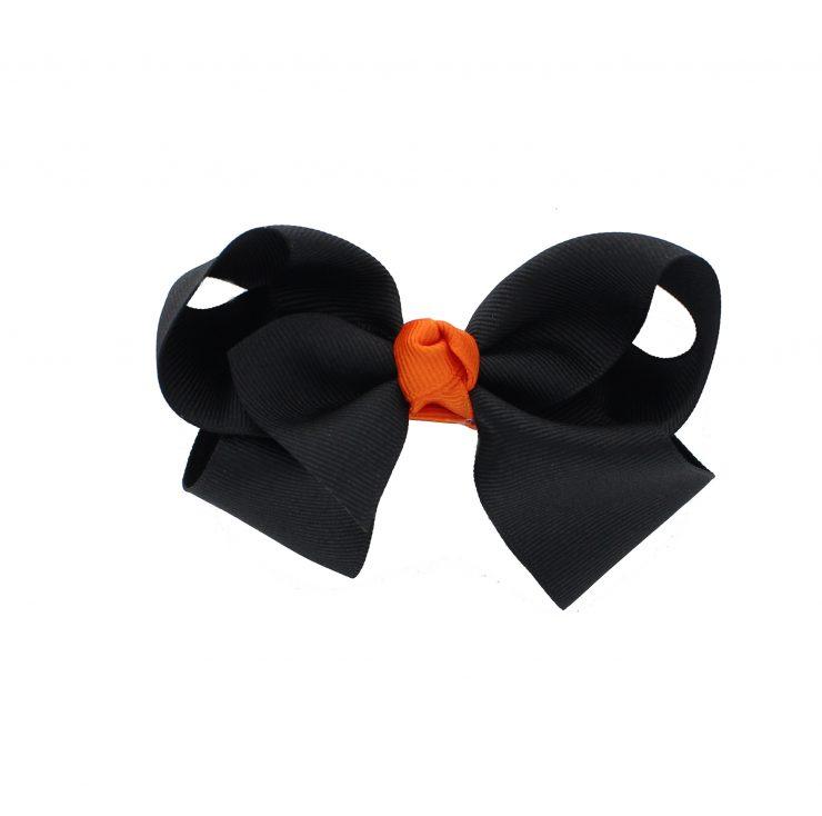 A photo of the Pumpkin Hair Ribbon product