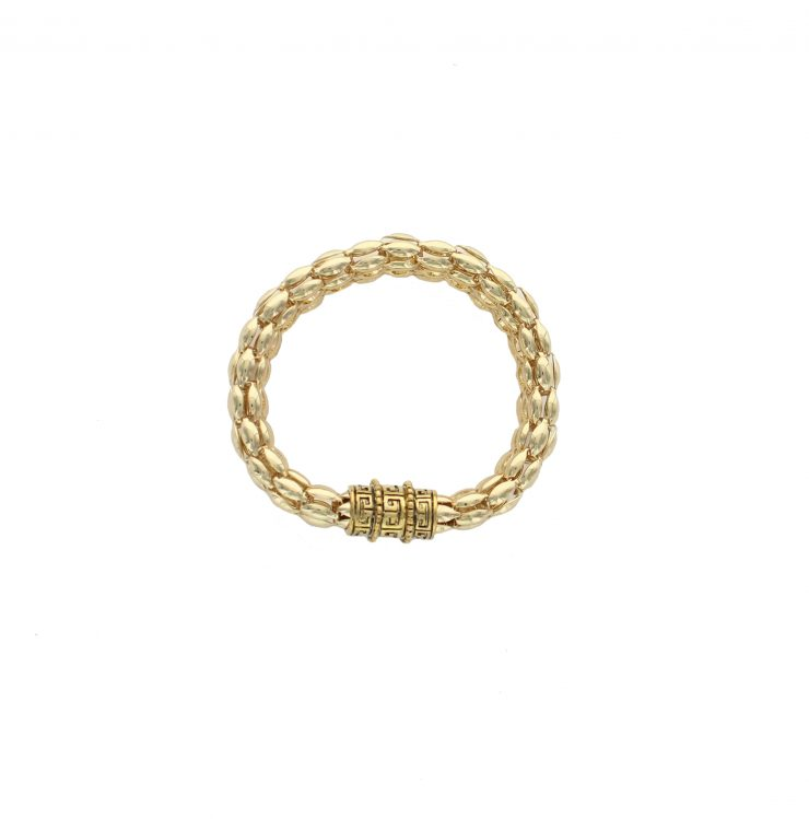 A photo of the Greek Key Magnetic Bracelet product