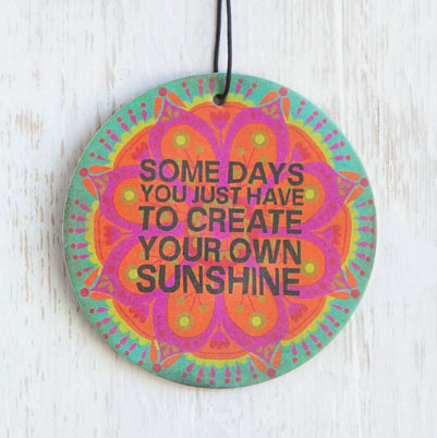 A photo of the Your Own Sunshine Air Freshener product