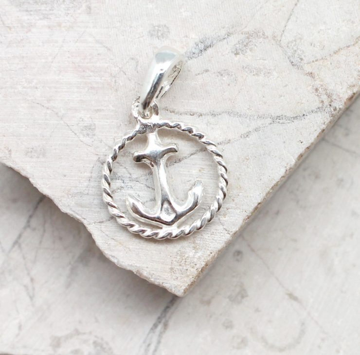 A photo of the The Rope & Anchor Pendant product