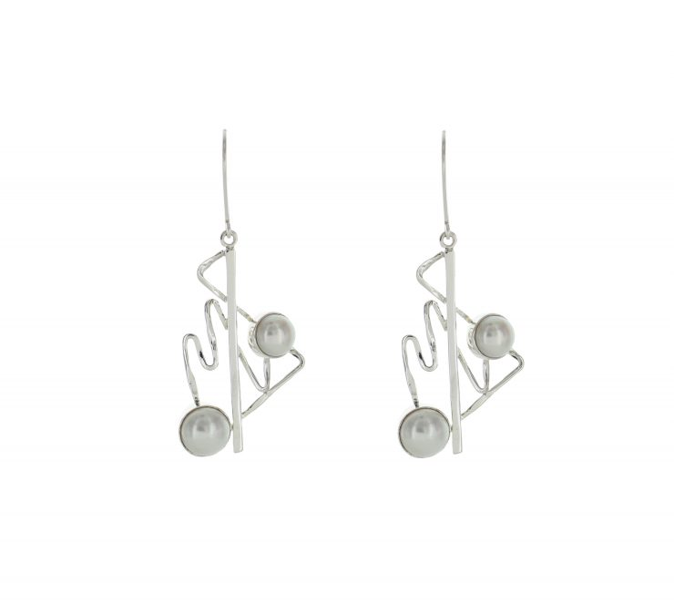 A photo of the Contemporary Lever Back Dangles product