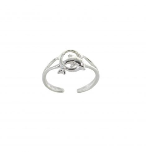 dolphin_in_a_hoop_toe_ring