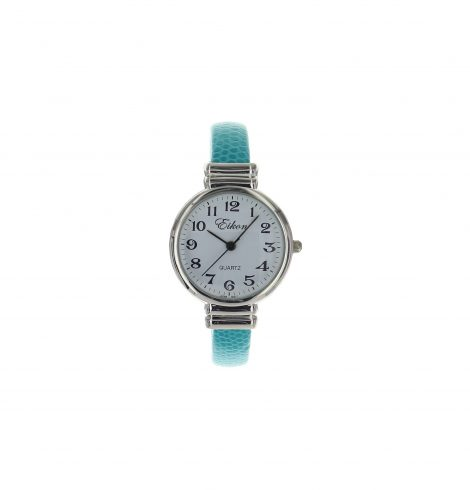 round_face_stingray_cuff_watch_turquoise