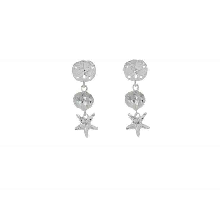A photo of the Sea Life Post Earrings product