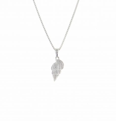shell_cone_sterling_pendant