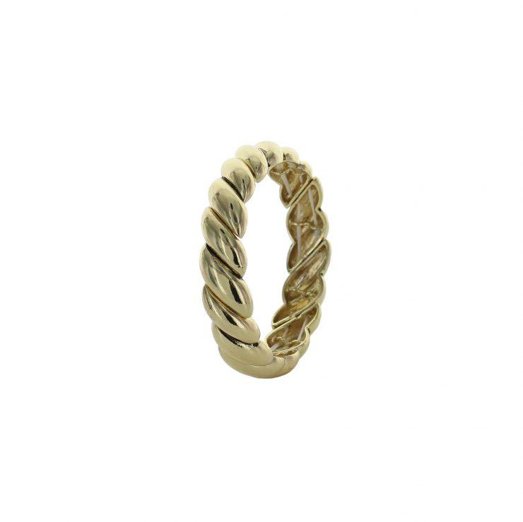 A photo of the Flat Swirls Bangle product