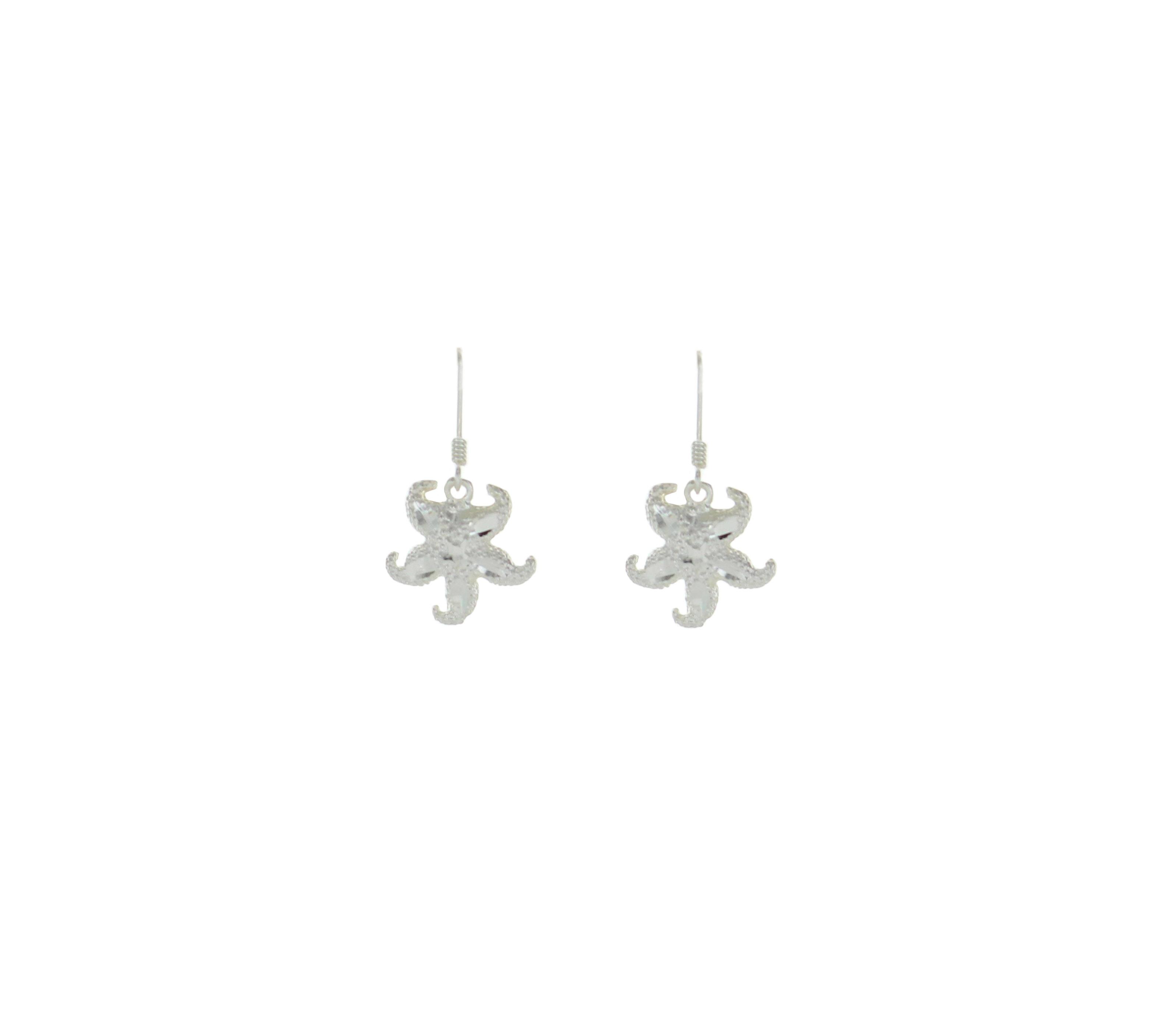 Traveler Starfish Dangle Earrings