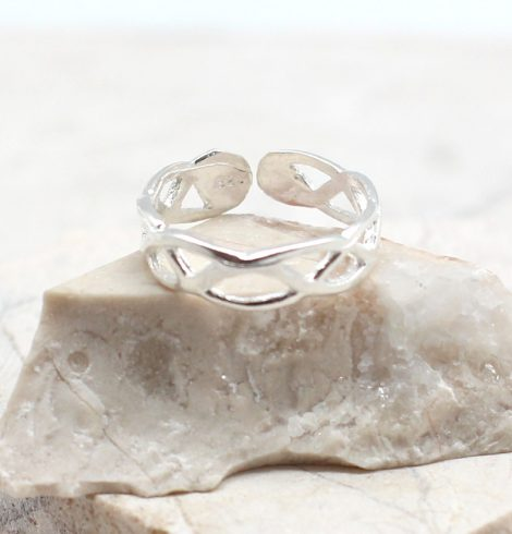 A photo of the The Cut Out Toe Ring product
