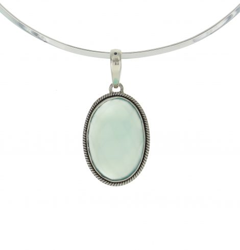 diamond_cut_oval_gem_pendant