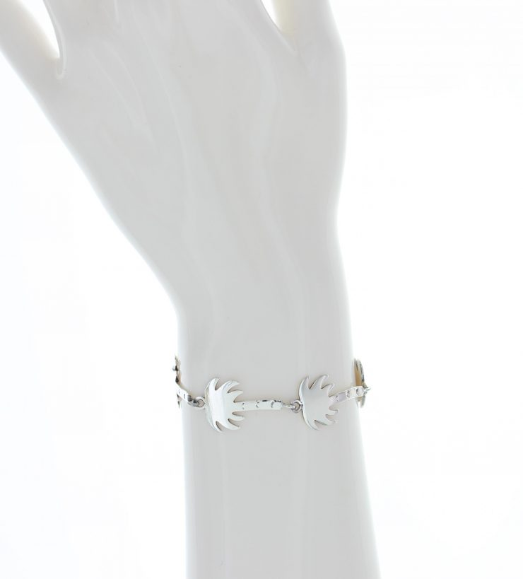 A photo of the Sterling Silver Palm Tree Bracelet product