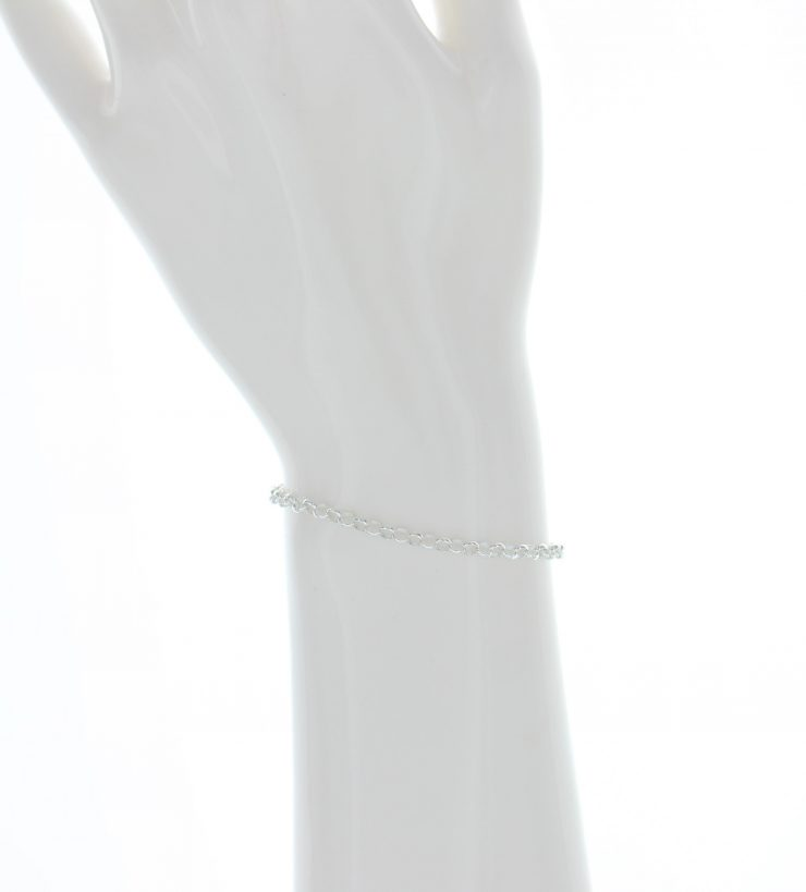 A photo of the Springring  Sterling Silver Bracelet product