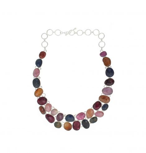 multicolor_diamond_cut_gemstone_necklace