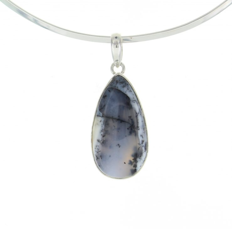 A photo of the Gloomy Forrest  Sterling Silver Pendant product