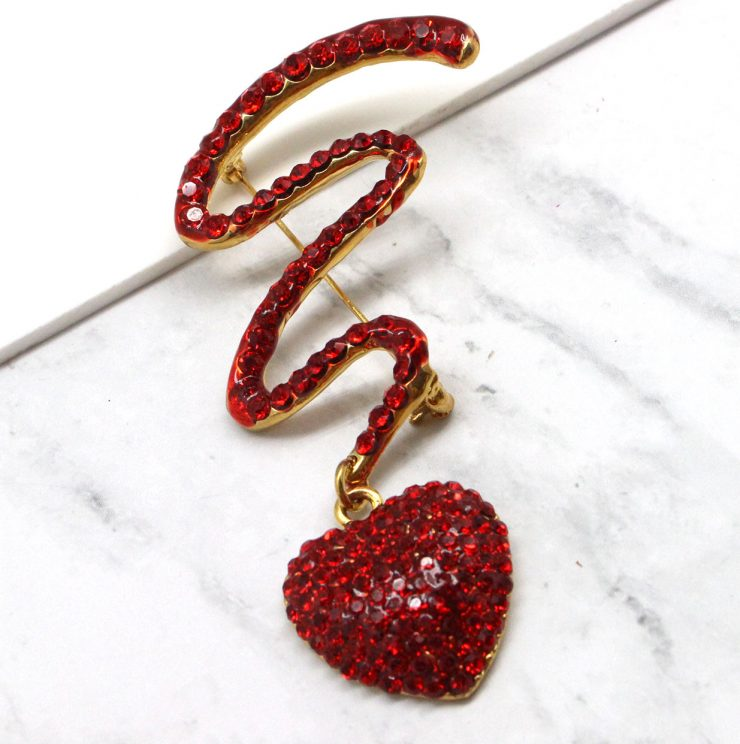 A photo of the Artistic Heart Pin product