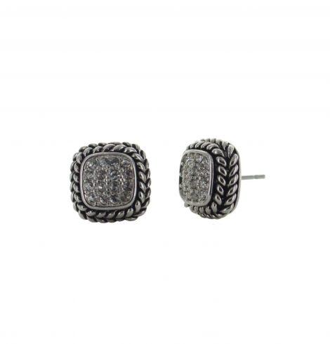 cable_trim_rhinestone_earrings