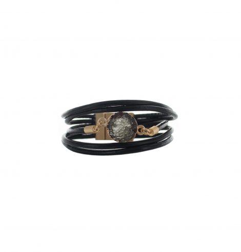 multistrand_rock_charm_bracelet_blk&gold