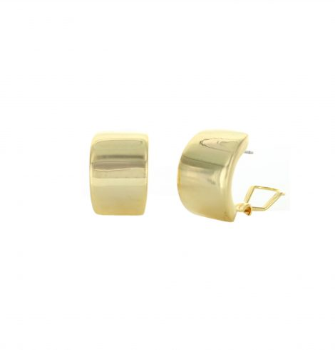 A photo of the Plain Half Ring Earrings product