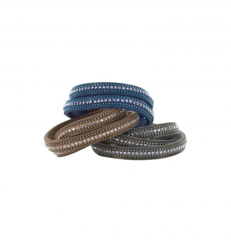 A photo of the Boho Glitz Wrap Bracelet product
