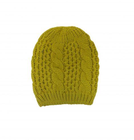 rope_knit_beanie_mustard
