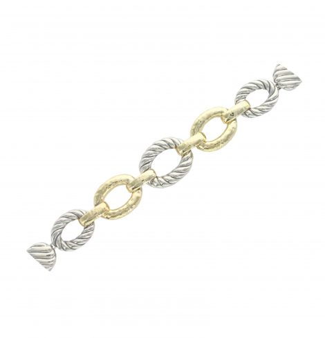 silver_cable_and_gold_links_magnetic_bracelet