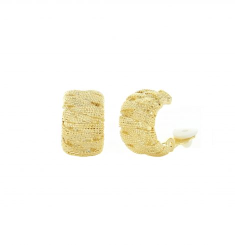 textured_crossover_clipon_earrings_gold