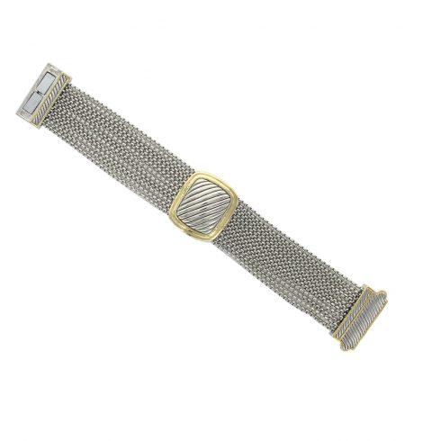 two_tone_square_multistrand_bracelet